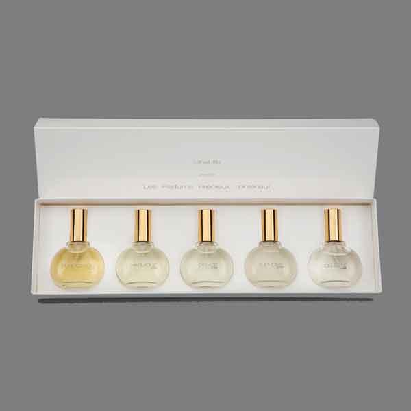 Coffret de 5 parfums d'intérieur luxe